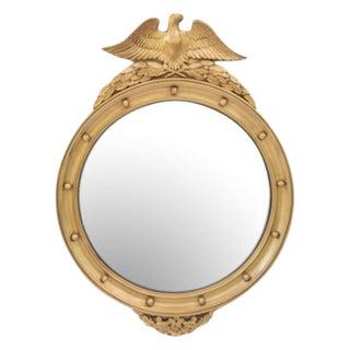 Vintage Convex Eagle Mirror
