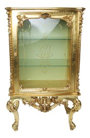 Image of Etching China and Display Cabinets