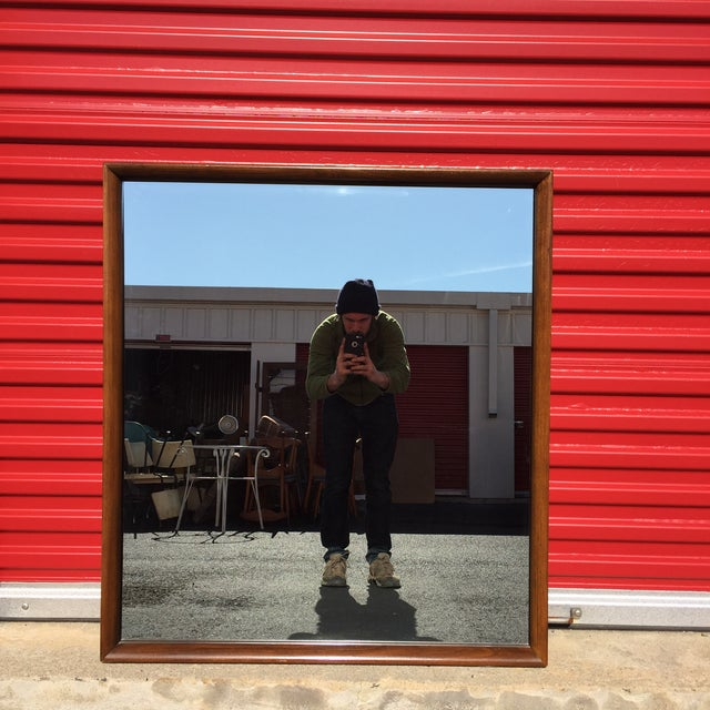 Mid-Century American of Martinsville Wall Mirror - Image 2 of 5