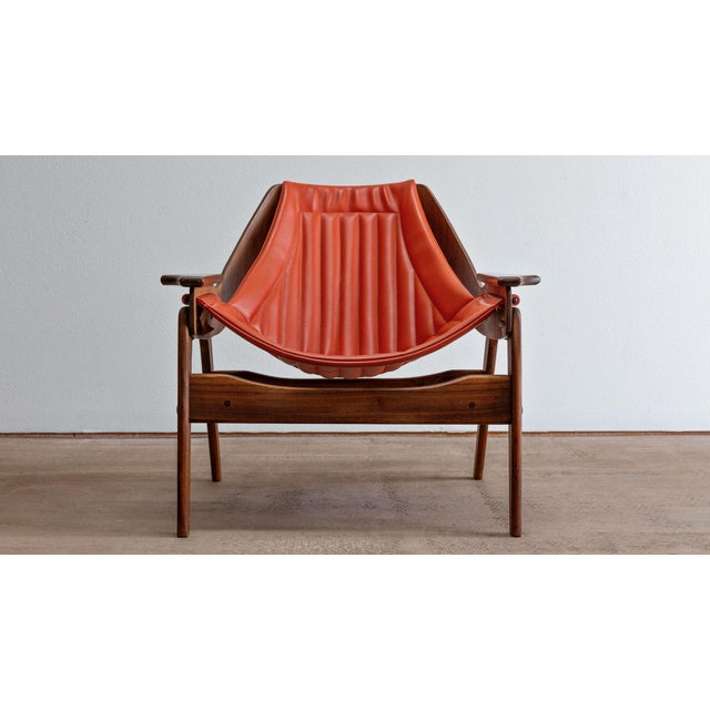 Mid-Century Modern Mid Century Modern Jerry Johnson Triumph I Sling Chair For Sale - Image 3 of 9