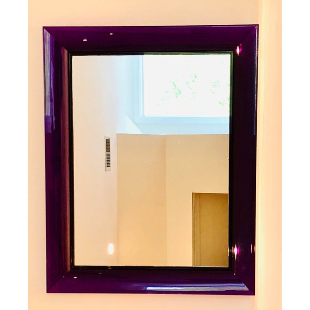 Modern Purple Francois Ghost Mirror by Phillippe Starck for Kartell For Sale - Image 3 of 10