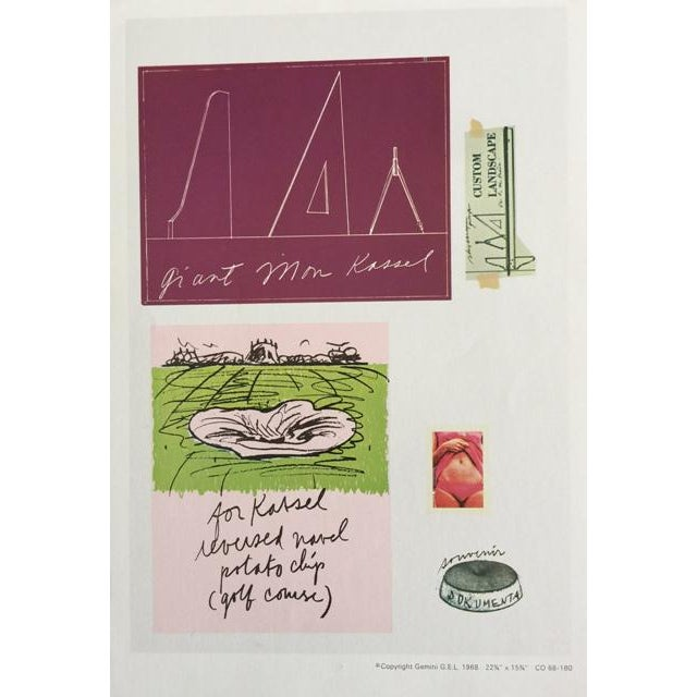 """Claes Oldenburg """"Notes"""" Complete Collection - Set of 12 - Image 7 of 10"""