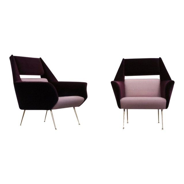 Gigi Radice, Chairs for Minotti, C. 1950 - 1959 For Sale