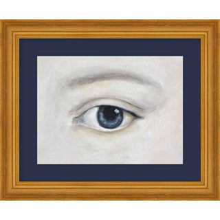 "Small ""Lover's Eye 5 With Charcoal"" Print by Susannah Carson, 12"" X 10"" For Sale"