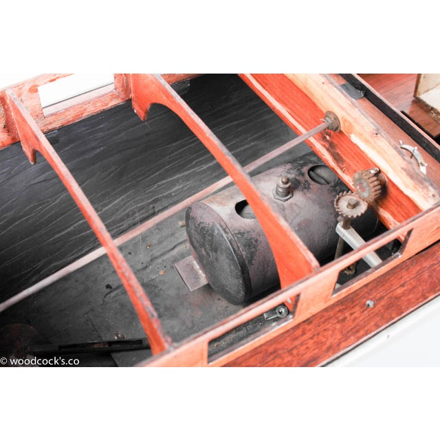1940s Steam Powered Wooden Boat - Image 11 of 11