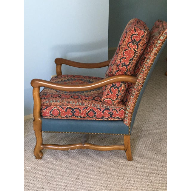 Mutton Bone Lounge Chair and Ottoman - Image 3 of 9