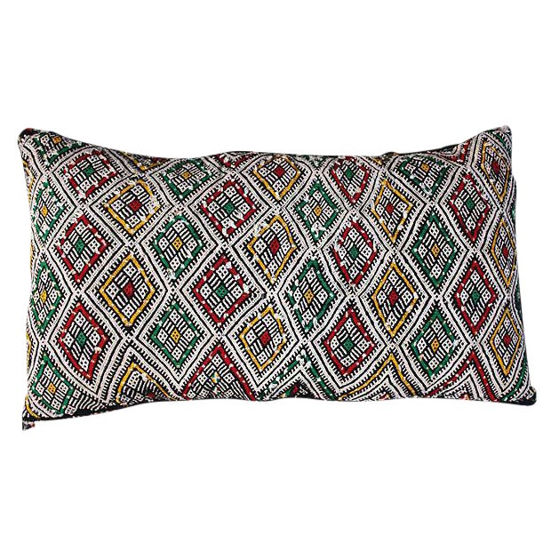 Moroccan Berber Sham With Diamond Pattern For Sale