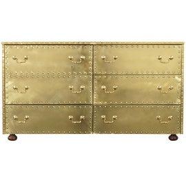 Image of Brass Dresser Sets