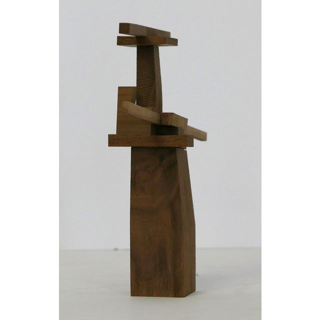 Behzad Haghiri's Raw Walnut Sculpture For Sale - Image 4 of 6