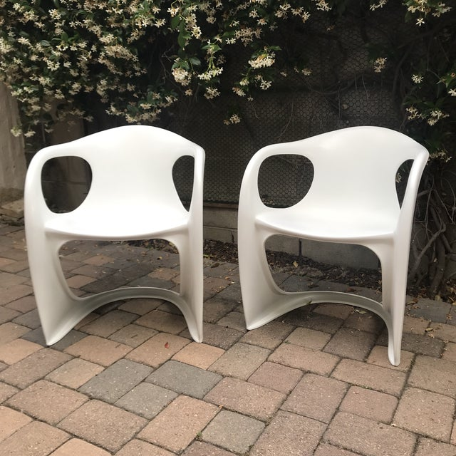 Mid Century Vitra Style Monolith Chairs- 5 Pieces For Sale - Image 10 of 11