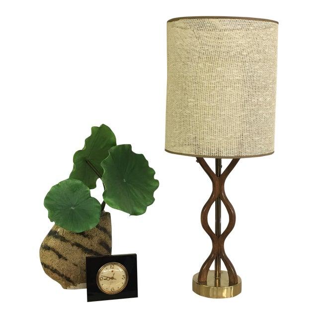Mid Century Modern danish table lamp For Sale