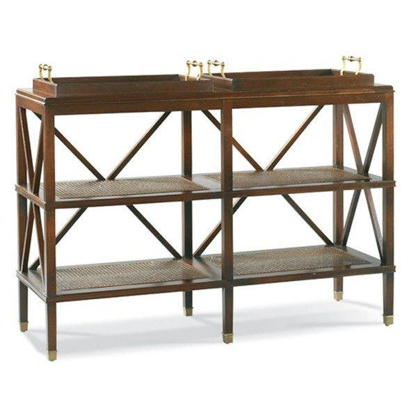 Kenneth Ludwig Chicago Southampton Tiered Tray Console from Kenneth Ludwig Chicago For Sale - Image 4 of 4