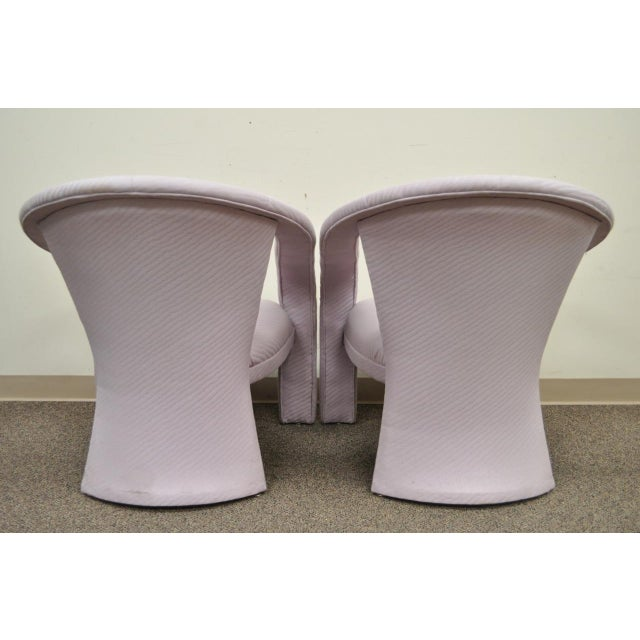 Carson's Sculptural Mid-Century Modern Lounge Chairs - A Pair - Image 7 of 11