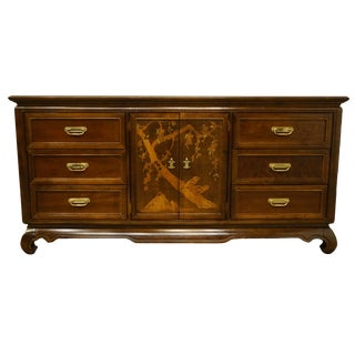 Broyhill Furniture Premier Collection Asian Chinoiserie Dresser For Sale