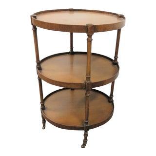 Brandt Directoire Style 3-Tier Table