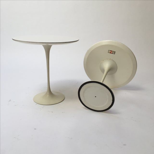 1st Edition Tulip Side Tables - Pair - Image 5 of 11