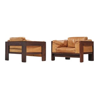 Tobia Scarpa Bastiano Chairs by Knoll- a Pair For Sale