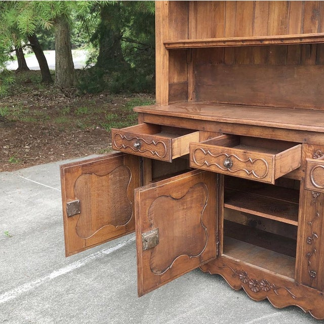 19th Century Country French Vaisselier ~ Buffet For Sale - Image 4 of 13