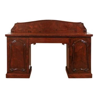 William IV Mahogany Pedestal Sideboard For Sale