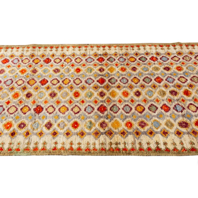 "Ivory 21st Century Modern Gabbeh Rug, 2'8"" X 6'8"" For Sale - Image 8 of 10"