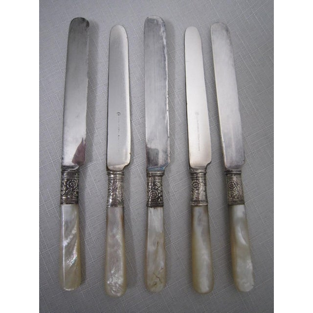 Mother of Pearl Knives - Set of 14 - Image 3 of 5