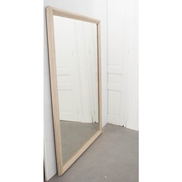 French 19th Century Large Painted Mirror For Sale - Image 4 of 8