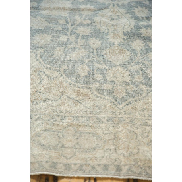 """Turquoise Vintage Distressed Oushak Carpet - 6'6"""" X 9'7"""" For Sale - Image 8 of 13"""
