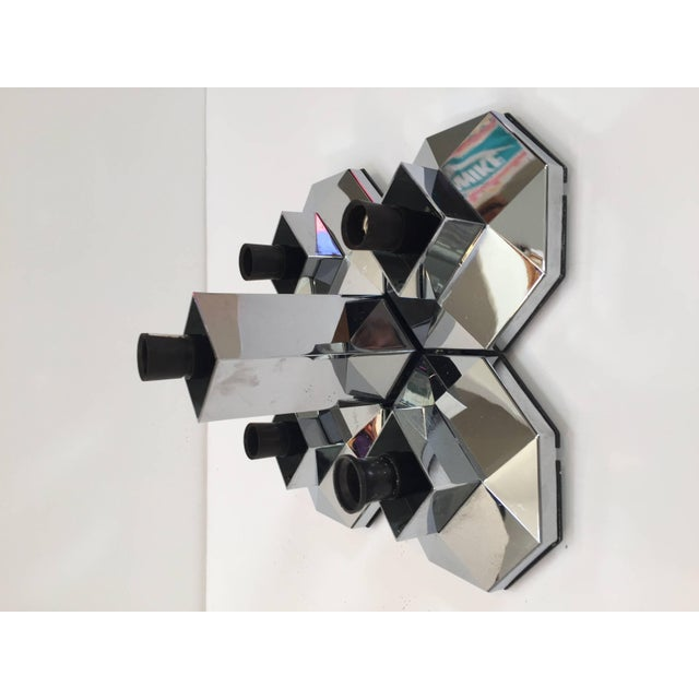 Large Modular Wall or Ceiling Lamp by Motoko Ishii for Staff, 1970s For Sale In Los Angeles - Image 6 of 10
