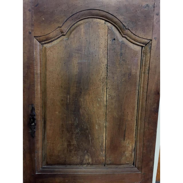 Late 18th Century Walnut French Cabinet Doors- a Pair For Sale - Image 9 of 11