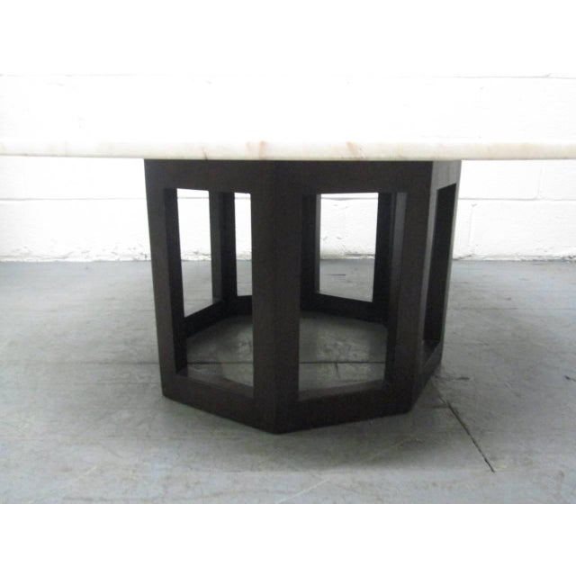 Harvey Probber Marble Top Coffee Table For Sale - Image 4 of 8