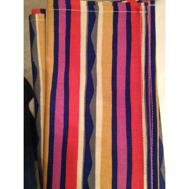 Missoni Striped Home Napkins - Set of 4 - Image 6 of 6