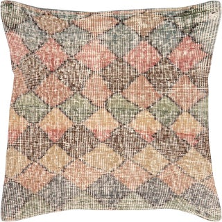"Nalbandian - Tukish Art Deco Pillow - 20"" X 20"" For Sale"