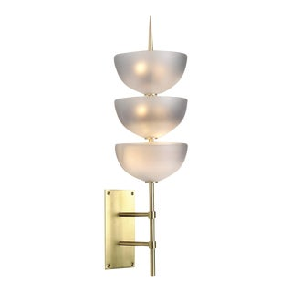 Small Gilles Wall Sconce With Glass by Seguso For Sale