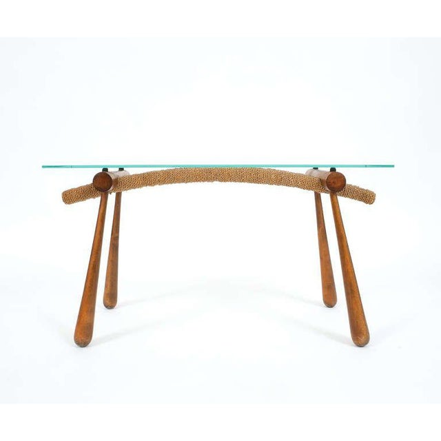Mid-Century Modern Iconic Modernist Coffee or Side Table by Max Kment, 1955 For Sale - Image 3 of 10