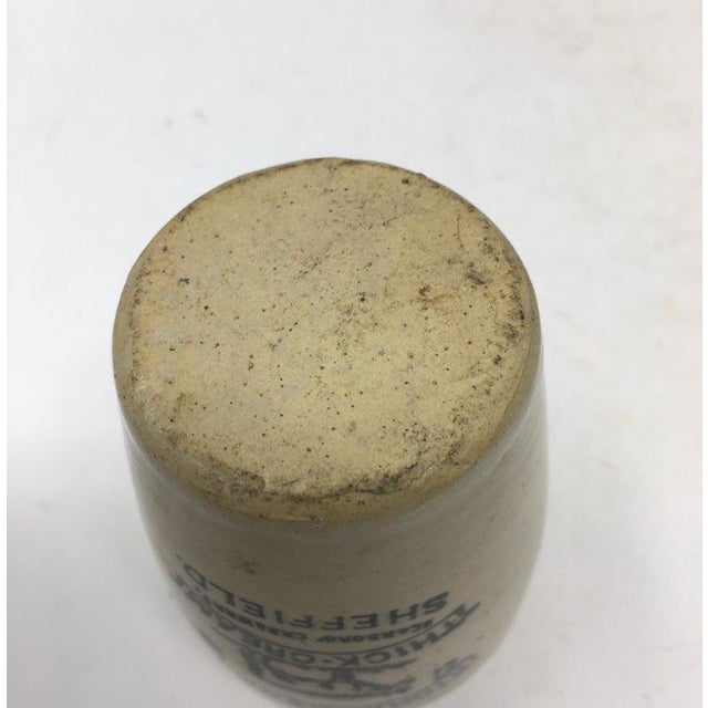 Richardson's Thick-Cream Ironstone Advertising Jar For Sale In Houston - Image 6 of 7