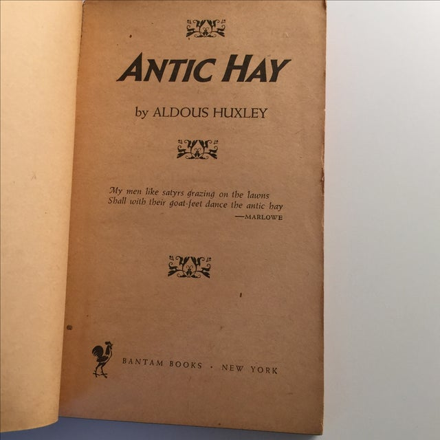 Antic Hay by Aldous Huxley, 1953 For Sale - Image 4 of 5