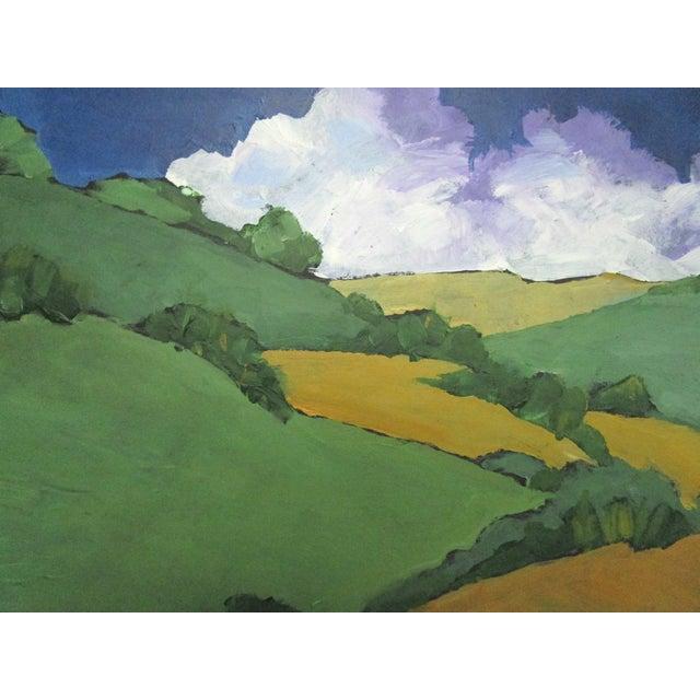 Malibu Hills Impressionist California Plein Air Landscape For Sale - Image 4 of 7