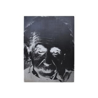 """Large Einstein Poster in Black & White, 33.5"""" X 44"""" For Sale"""