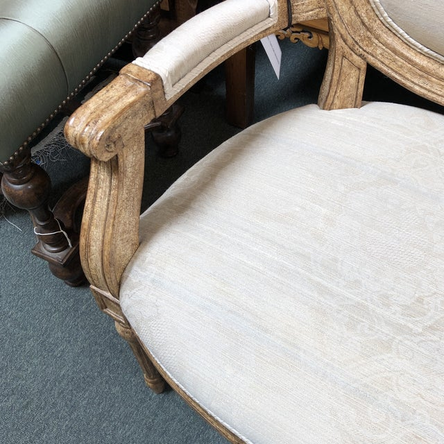 New Ovale Arm Chair by Hamilton Collection For Sale - Image 10 of 13