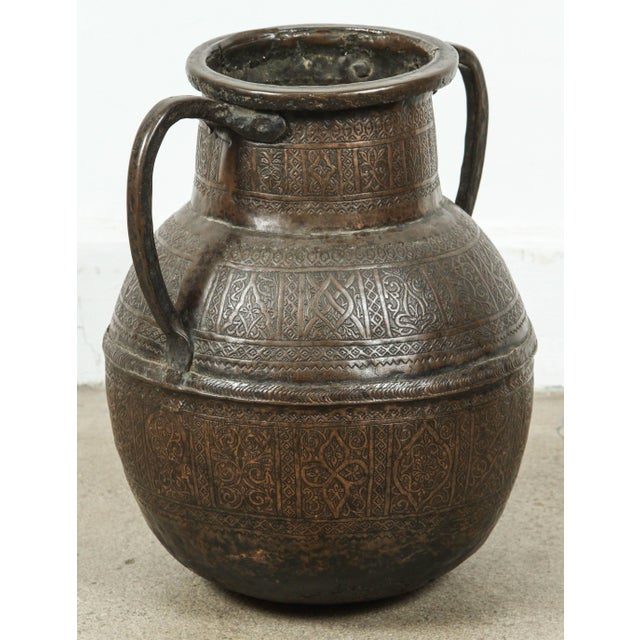 Copper 19th Century Persian Copper Pot With Handle For Sale - Image 7 of 7