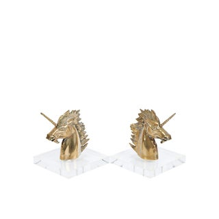 Sabin Unicorn Bookends - A Pair Preview
