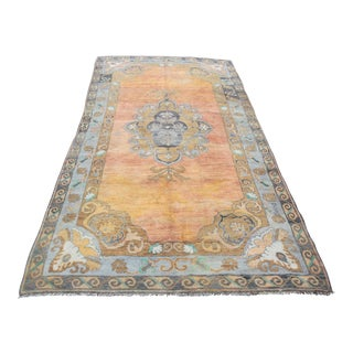 1940s Vintage Turkish Sivas Rug - 5′5″ × 12′10″ For Sale