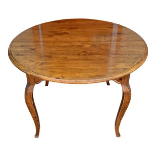French Country Ethan Allen Dining Table For Sale