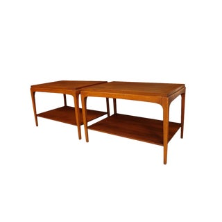 Pair Mid Century Lane Rhythm Side Tables For Sale