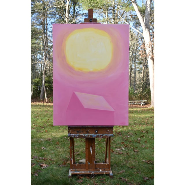 """Contemporary Stephen Remick """"Good Morning, Sunshine"""" Contemporary Painting For Sale - Image 3 of 12"""