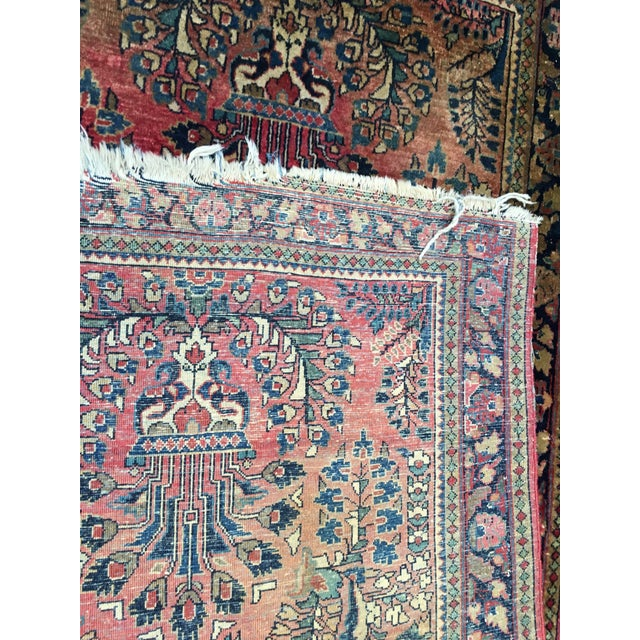1920s Hand-Knotted Runner - 2′ × 6′ - Image 4 of 11