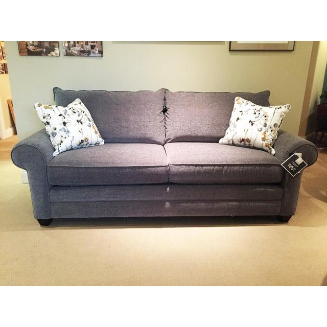 Modern Bassett Furniture Gray Sofa