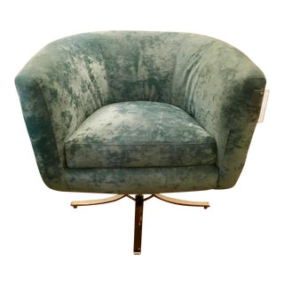 Modern Caracole Twirl Around Chair For Sale