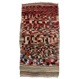 20th Century Moroccan Berber Rug For Sale
