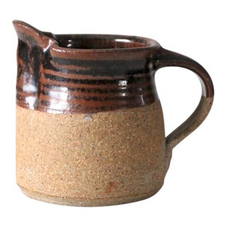 Vintage Studio Pottery Pitcher For Sale